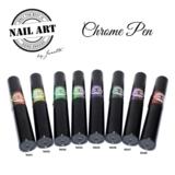 Chrome pen collectie 8 stuks_