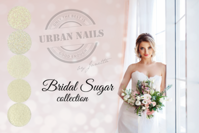 Urban Nails Bridal Glitter Collections