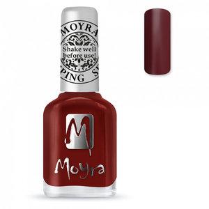 MOYRA STAMPING SP03 Burgundy Red